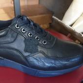 Шкіряні кросівки Демі 45р до 29 см / ін. моделі в моїх лотах !