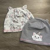 Комплект шапочек для малышки