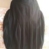 тёплая юбка р. 18 поб 58 чёрная