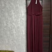 Фирменное новое красивое платье-плиссе р.14
