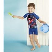 Комплект для купания мальчику Marvel Германия, защита от ультрафиолетового излучения размер 74/80
