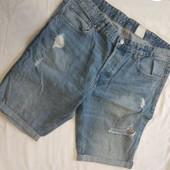 Шорты джинсовые denim(50-52) H&M