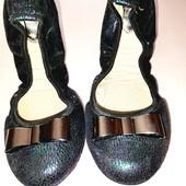 Лёгкие туфли балетки для девочки стелька 22,5 см