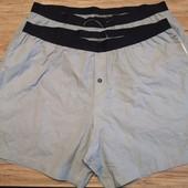 Германия! Комфортные мужские трусы шорты с карманами ! 2 шт в лоте, размер Xl смотрите замеры!