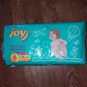 Трусики-подгузники Joy 6. УП скидка 10%