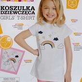 Бомба! Принт меняет цвет на солнце! рост 122-128! крутая футболочка из Польши!