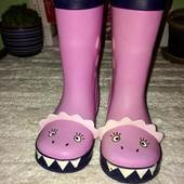 Детские резиновые сапоги для девочки стелька 15,5 Jojo Maman Bebe