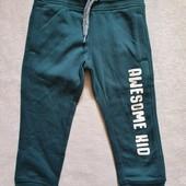 Теплые спортивные штаны C&A 98р