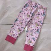 Стоп !❤ Единорожки!Фирменные коттоновые штаники для сна и отдыха,2 -3года❤ Много лотов!