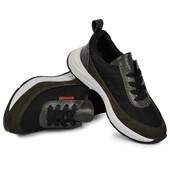 Кожаные кроссовки+нубук для мальчика Maxus