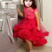 Шикраное платье на рост 122 - одели 2 раза на именины и фотосессию