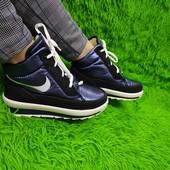Распродажа!Зимние ботинки в стиле Nike