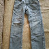распродажа!!!! спешите приобрести!!!! серые джинсы р 128см