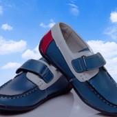 ***Натуральная кожа*** Отличные туфельки для малышей, на липучке