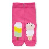 ☘Лот 1 пара☘ Шкарпетки з веселим принтом з біо-бавовни, Tchibo (Німеччина), розміри: 39-42, рожевий