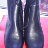 Кожаные сапожки еврозима. 36.5 размер