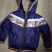 Куртка демисезонная, отличное состояние на 6-7 лет