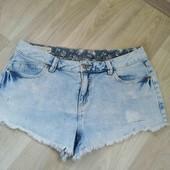 Фирменные джинсовые шорты /Clockhouse /M!!!