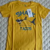 Стильная футболка с модным принтом от Cool club by Smyk, размер 134 см