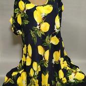 Платья с натуральной ткани 52-58