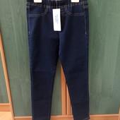 Нові стрейч джинси на дівчинку,140 янстайл,Польща