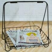 Металева стійка,поличка для журналів Нідерланди