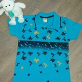 Детская футболка для мальчика. Турция
