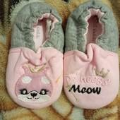 Туфельки пинетки для принцессы