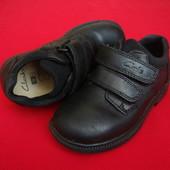 Ботинки туфли Clarks натур кожа 26-27 размер