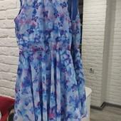 Платье H&M шифоновое новое для девочки 11-12 лет