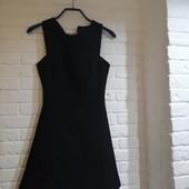 Платье чёрное Zara размер XS-S