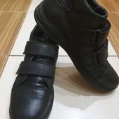 Кожа!Демисесонные туфли/полуботинки р.36