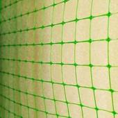 Сетка пластиковая высота 2м (яч 30×35) зеленая