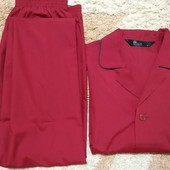 Легкая мужская пижама Bhs (Britain), размер L/хL
