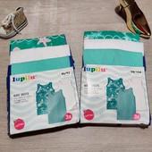 Германия!!! Лот из 3 коттоновых упакованных нательных маек для девочки! 86/92 или 98/104!