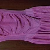 Оооочень красивое розовое платье