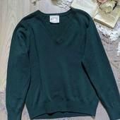 базовый пуловер из английской шерсти, размер С-М, отличное состояние