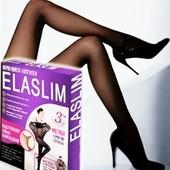 Сверхпрочные нервущиеся колготки ElaSlim 130 ден черные!