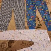 Большой лот пижамных штанишек на 4-5 лет