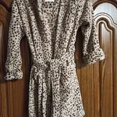 Плюшевый халат на 7-8 лет, рост 128 см в отличном состоянии