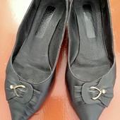 Кожанные туфли 38 рр