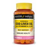 Жевательные таблетки с рыбим жиром, с витаминами A, C и D (со вкусом апельсина), 100 шт, Америка