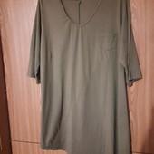 Платье-туника большого размера, my style, р. евро 48, наш 54-58