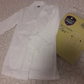 Лабораторный халат для школы/игры р.140 в упаковке