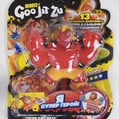 Игра антистресс тянучки-монстрики Goo Jit Zu 14 см, случайный герой, много лотов для детей