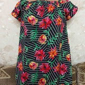 Лёгкое женское платье Primark, свободного кроя, размер С