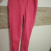 Сочно-розовые штаны S(собирайте мои лоты)
