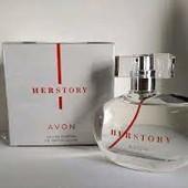парфюмерная вода avon Herstory для Неё, 50 мл