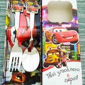 Набор детских столовых приборов | Ложка вилка детская лол ельза патруль маквин