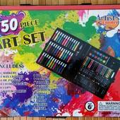 Художественный набор для детского творчества в чемодане Super Mega Art Set 150 предметов| Набор для